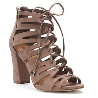 madden NYC Bardott Women's High Heel Gladiator Sandals