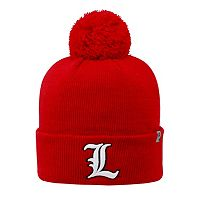 Adult Top of the World Louisville Cardinals Tow Beanie