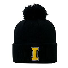 Youth Top of the World Iowa Hawkeyes Pom Beanie