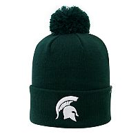 Youth Top of the World Michigan State Spartans Pom Beanie