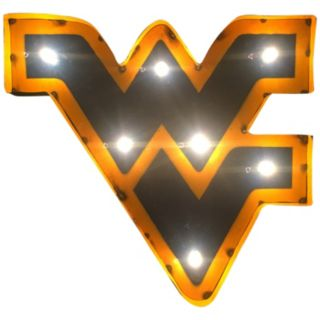 West Virginia Mountaineers Light-Up Wall Décor
