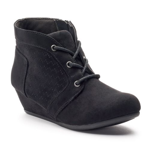 Julie Girls' Wedge Ankle Boots