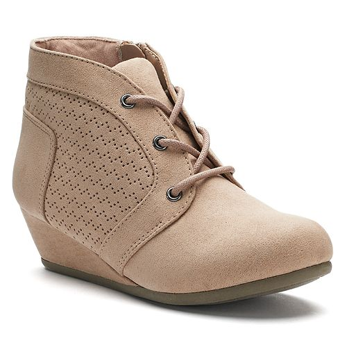 c015e8ed32e4 SO® Julie Girls  Wedge Ankle Boots