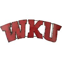 Western Kentucky Hilltoppers Metal Wall Décor