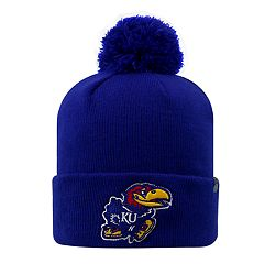 Youth Top of the World Kansas Jayhawks Pom Beanie