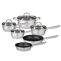 BergHOFF Dorato 10 pc Stainless Steel Cookware Set