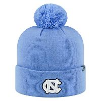 Youth Top of the World North Carolina Tar Heels Pom Beanie