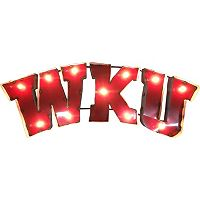 Western Kentucky Hilltoppers Light-Up Wall Décor