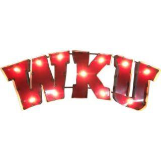 Western Kentucky Hilltoppers Light-Up Wall Décor