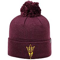 Adult Top Of The World Arizona State Sun Devils Tow Pom Hat