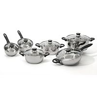 BergHOFF Ostend 12 pc Stainless Steel Cookware Set