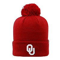 Youth Top of the World Oklahoma Sooners Pom Beanie