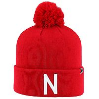 Youth Top Of The World Nebraska Cornhuskers Tow Pom Hat