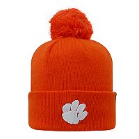 Youth Top of the World Clemson Tigers Pom Beanie