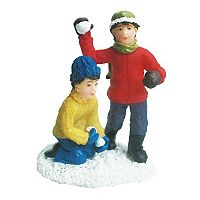 St. Nicholas Square® Village Double Figurines Snowball Fight