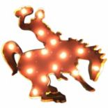 Wyoming Cowboys Light-Up Wall Décor