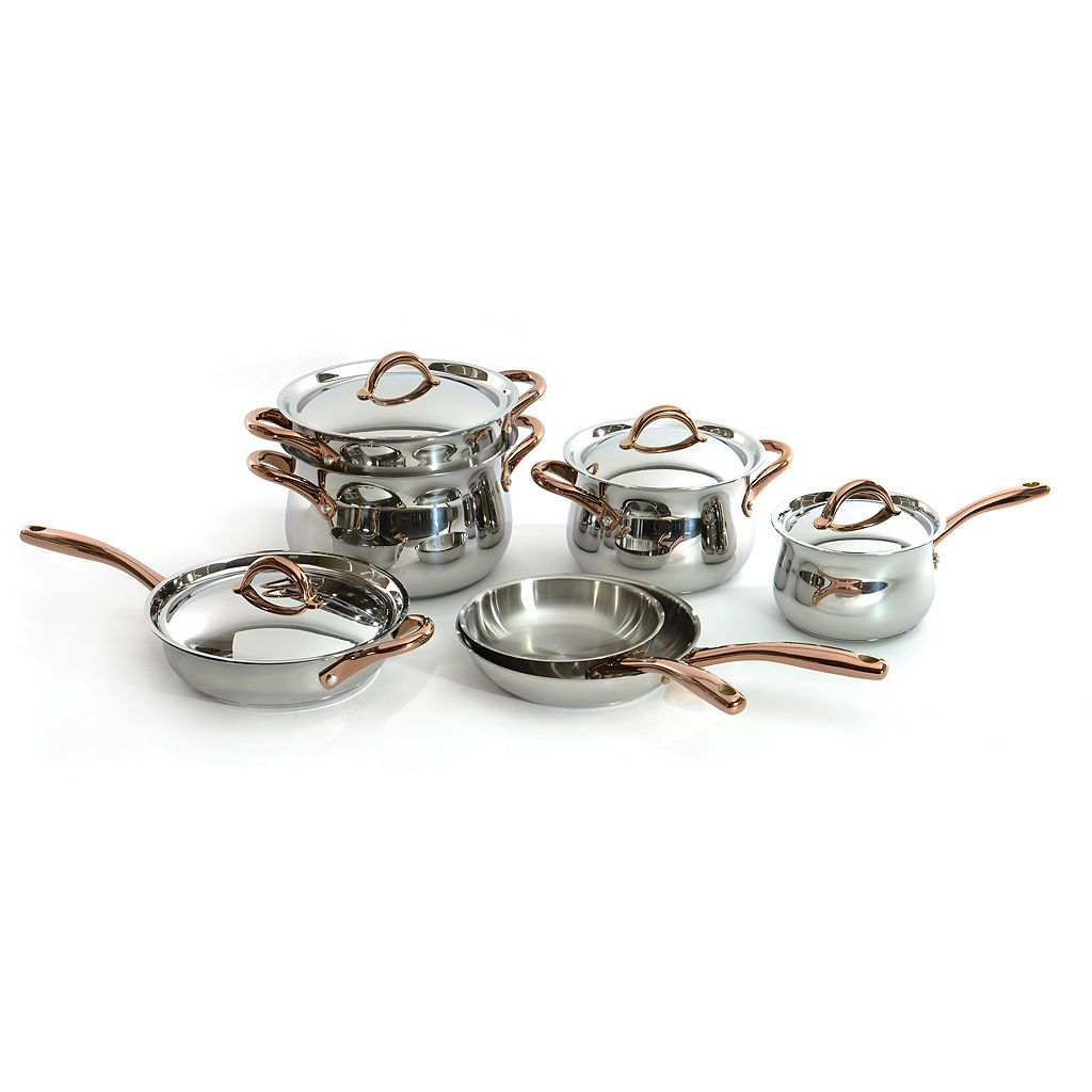 BergHOFF Ouro 11-pc. Stainless Steel Cookware Set