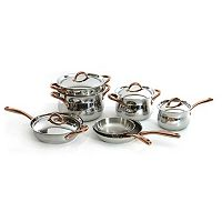 BergHOFF Ouro 11 pc Stainless Steel Cookware Set