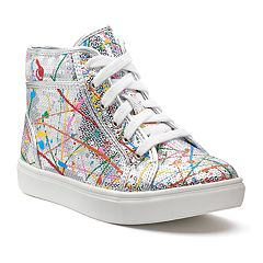 SO® Jess Girls' High Top Sneakers