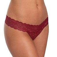 Juniors' Candies® Shine Lace Thong