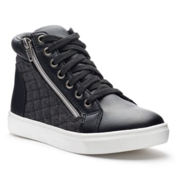 SO® Jumpsies Girls' Quilted High-Top Sneakers