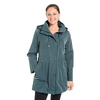 Women's Fleet Street Faux-Silk Anorak Jacket