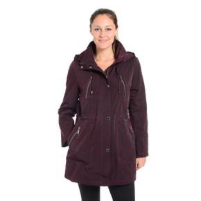Women's Fleet Street Faux-Silk Anorak Jacket