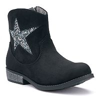 SO® Nicki Girls' Western Ankle Boots