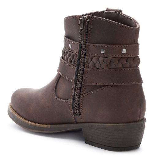 SO® Courtney Girls' Ankle Boots