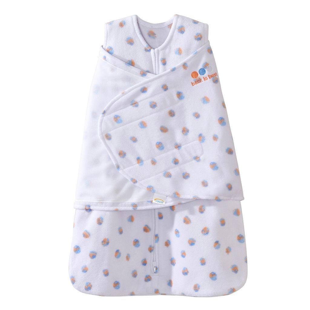 Baby HALO Fleece SleepSack Swaddle