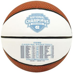 Rawlings North Carolina Tar Heels 2017 NCAA Basketball National Champions Mini Basketball