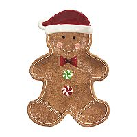 St. Nicholas Square® Gingerbread Christmas Serving Platter
