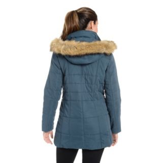 Women's Fleet Street Faux-Fur Hooded Jacket