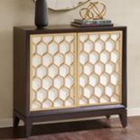 Madison Park Amrita Honeycomb Storage Cabinet
