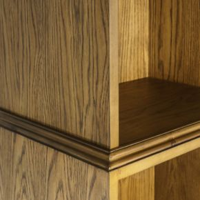 Madison Park Kimball 3-Tier Bookshelf