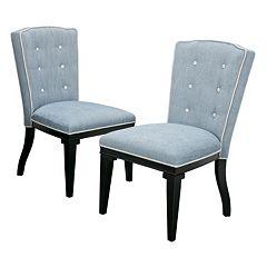 Madison Park Twyla Dining Chair 2 pc Set