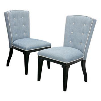 Madison Park Twyla Dining Chair 2-piece Set