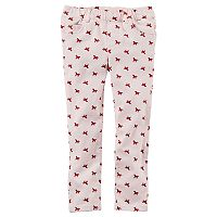 Toddler Girl Carter's Horse Print Twill Pants