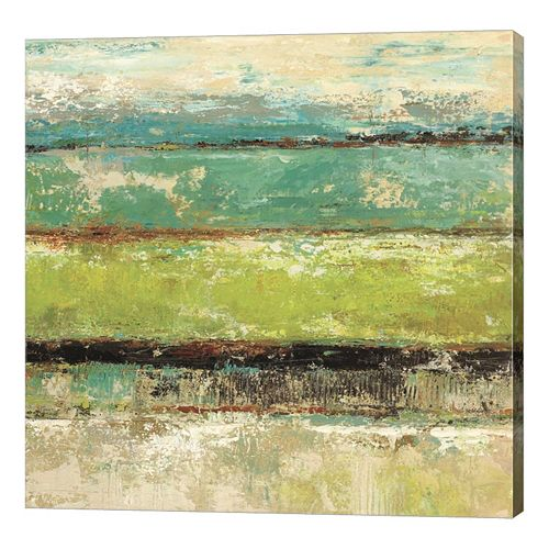 Metaverse Art Living Green II Canvas Wall Art