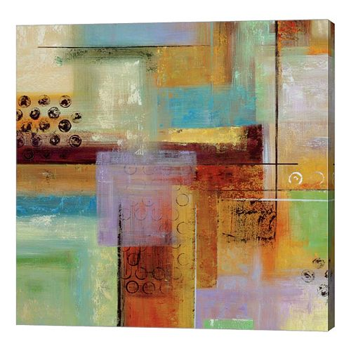 Metaverse Art Kalahari Colors Canvas Wall Art