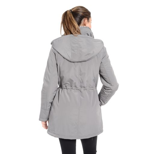 Women's Fleet Street Faux-Fur-Trimmed Anorak Jacket