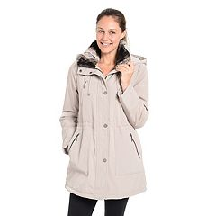 Women's Fleet Street Faux-Fur-Trimmed Anorak Jacket