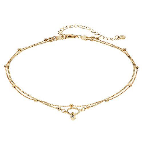 0baa27e9feae8 LC Lauren Conrad Ball Chain Double Strand Choker Necklace