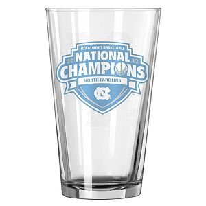 Boelter North Carolina Tar Heels 2017 NCAA Basketball National Champions Pint Glass