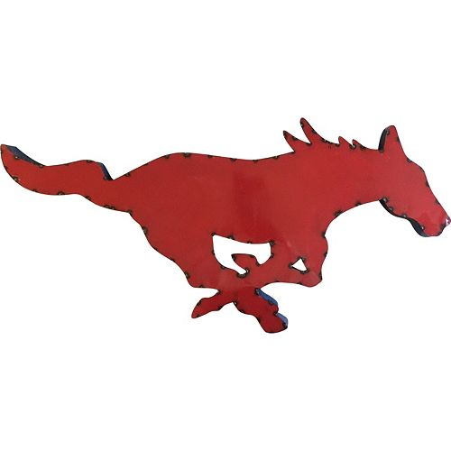SMU Mustangs Metal Wall Décor