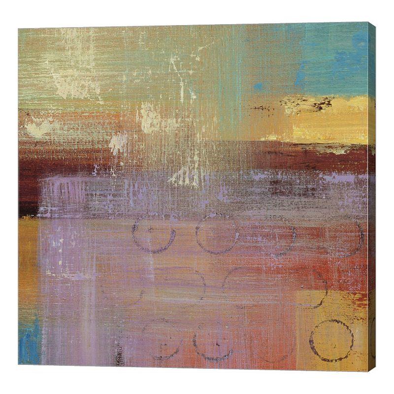 """Metaverse Art Kalahari Square II Canvas Wall Art. Multicolor. 12""""X12"""""""