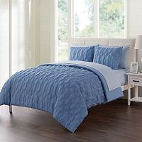 VCNY Linx Embossed Bedding Set