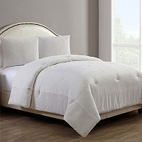 VCNY Gabriella Metallic Plush Comforter Set
