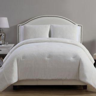 VCNY Gabriella Metallic Plush Comforter Set