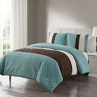VCNY Edgemont Embossed Comforter Set